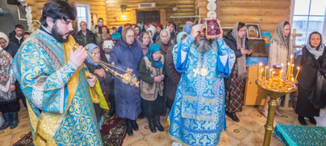 Освящение храма Покрова Пресвятой Богородицы, с. Каменное